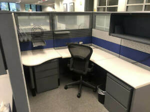 Used Office Cubicles Herman Miller Ethospace 6x6 5 Cubicles