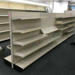Lozier Gondola Shelving For Sale