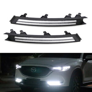 White amber Sequential Switchback Led Daytime Running Light Kit For 2017 up Cx5