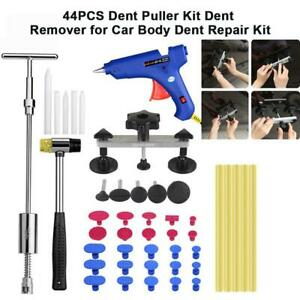 44x Non scratch Paintless Dent Puller Lifter Hail Removal Tools Car Auto Body Ki