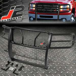 J2 For 11 14 Gmc Sierra 2500hd Front Bumper Grille Honeycomb Mesh Brush Guard