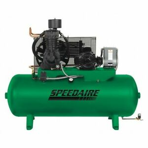 Speedaire 35wc52 Elec Air Compressor 2 Stage 7 5hp 24cfm