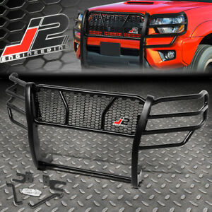 J2 For 05 15 Toyota Tacoma Front Bumper Grille Grill Honeycomb Mesh Brush Guard