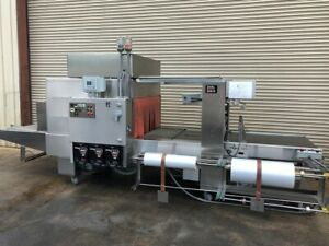 Poly Pack Il 40 xl Stainless Inline Bundler Shrink Wrapper