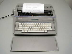 Brother Sx 4000 Electronic Lcd Typewriter Dictionary Auto Correct Word Spell Euc