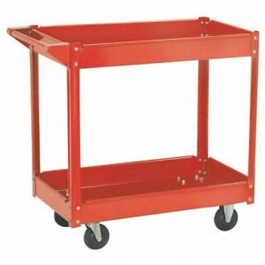 220 Lb Heavy Duty Rolling Utility Cart Tools Equipment For Garage Or Shop