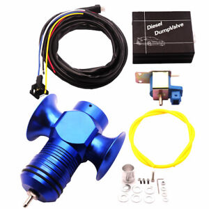 Electrical Turbo Diesel Dump Blow Off Valve Kit Fit For Vw T4 T5 Bmw E36 E39 E46