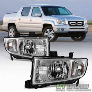 For 2006 2014 Honda Ridgeline Pickup Headlights Headlamps Replacement Left Right