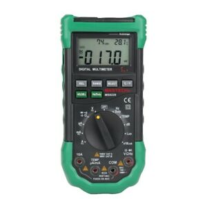 Mastech Ms8229 Digital Multimeter 5 In 1 Noise Illumination Temperature Humidity