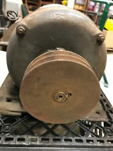 Heavy Duty Brown Brockmeyer B line Antique Electric Logan Lathe Motor 110v 220v