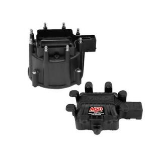 Msd 84113 Extreme Output Gm Hei Distributor Cap Coil Cover black