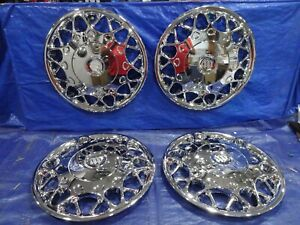 2000 2003 Buick Century 15 Chrome Hubcaps Wheel Covers New Replacement Set Of 4