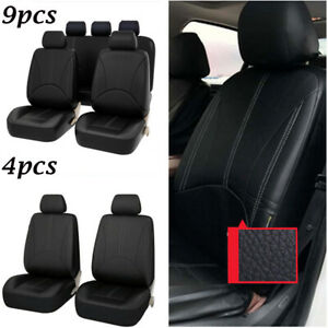 Pu Leather Auto Seat Cover Universal Car Front Seat Back Car Seat Protector T8m2