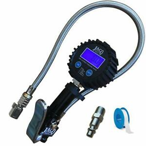 Digital Tire Inflator With Pressure Gauge 200 Psi