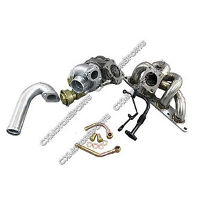 Cxracing Td05h 20g Turbo Manifold Kit For 89 99 Eclipse 4g63 4g63t