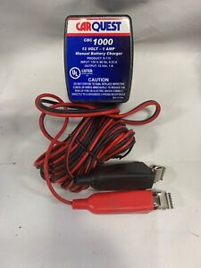 New Carquest 12 Volt 1 Amp Battery Trickle Charger