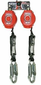 Miller Twin Turbo 6 foot Fall Protection System With D ring Connector And Stee