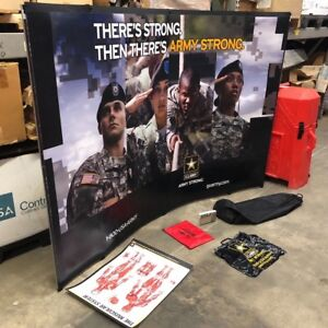Nomadic Instand Tabletop Booth Display 5 X 5 Trade Show Army Strong