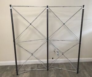 Nomadic Instand 5x5 Trade Show Pop Up Display Table Top Booth Display Add On