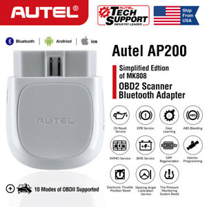 Autel Ap200 Bluetooth Obd2 Scanner Auto Diagnostic Tool Code Reader Full Systems