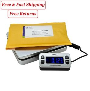 Royal Dg110 Shipping postal Scale 110 Lb Capacity