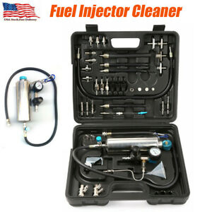 Car Fuel Injector Cleaner Non Dismantle Air Intake System Nozzle Cleaning Tool