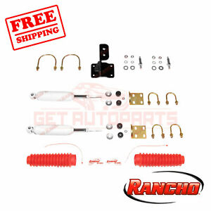 Rancho Steering Stabilizer For 2008 2019 Ford F 250 Super Duty 4wd