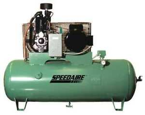 Speedaire 1wd86 Electric Air Compressor 2 Stage 23 5 Cfm