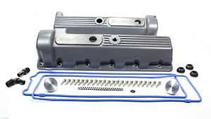 Valve Cover Kit Ford 4 6 Motor 11 bolt Cast Alm Trick Flow Tfs 51800801