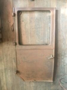 Model T Door Ford 1923 1924 1925 1927 Right Rear Metal W Hinges 23 24 25 26 27
