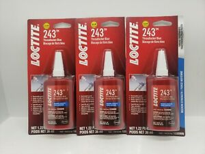 Loctite 262 High Strength Threadlocker 36 Ml Bottle Blue Med Strength Box Of 3