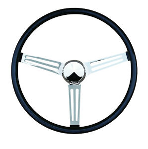 15 Mooneyes Slotted Spoke Steering Wheel Black Grip Gs210fgbk W Gs1000 3 Horn