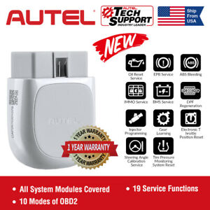 Autel Ap200 Obd2 Scanner Bluetooth Car Code Reader With All Systems Diagnoses Us