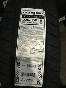 2 New 225 65 16 Kelly Edge A S Tires