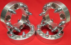 4 Pcs 1 5 Wheel Spacers Adapters Fit Toyota 6 Lug 4x4 Pickup