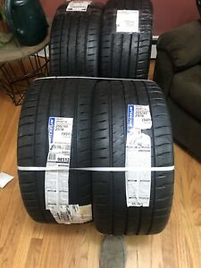 4 New 255 40zr18xl Michelin Pilot Sport 4 S Tires 99 y