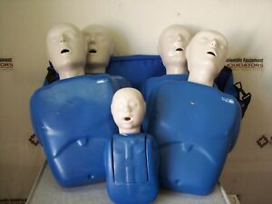 Cpr Prompt Adult child And Infant Training Manikins 4 Adult 1 infant