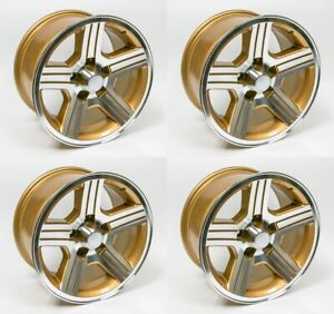 1988 1990 Camaro Iroc Z 17x9 Gold Wheels Rims Set Of 4 Ht179iroczgold
