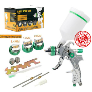 1 4 1 7 2 0mm Hvlp Paint Spray Gun Devilbiss Mini Gravity Feed Paint Sprayer