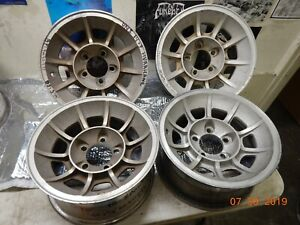 Vintage 14x7 Dukes Of Hazzard Vector Wheels Mopar Dodge 442 Chevelle Nova Ford