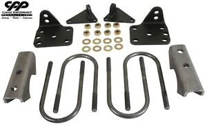 1947 1954 Chevy 3100 Truck 4 Drop Rear Axle Flip Conversion Lowering Kit