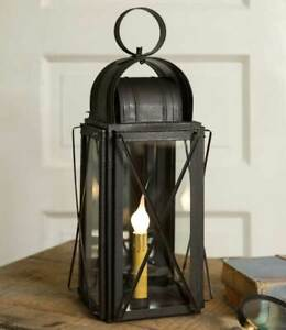 Milkhouse New Rustic Tin Accent Lantern Light