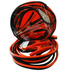 16 Ft 6 Gauge Heavy Duty Power Booster Cable Emergency Car Battery Jumper