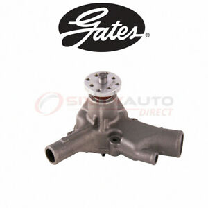 Gates Engine Water Pump For 1974 Chevrolet G20 Van 4 8l L6 Coolant Yv
