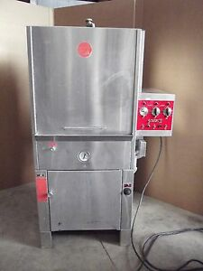 Heinicke Laboratory Glassware Washer Model Hw5000s 3ph Nice Condition Sr28x