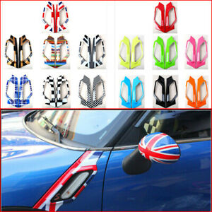 For Mini Cooper Countryman S Car Fender Side Scuttles Trim Decor Decal Abs Cover