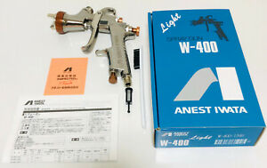 Anest Iwata W 400 134g 1 3mm Bellaria Classic Spray Gun Without Cup From Japan