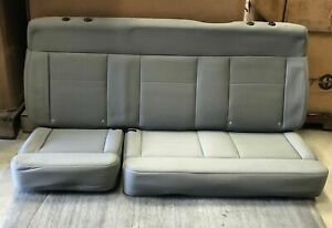 2004 2008 Ford F 150 Supercab Extended Cab Oem Rear Gray Cloth Bench Seat