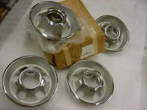 Mopar 1972 1974 Rally Wheel 4 1 2 Bolt Pattern Nos Center Caps