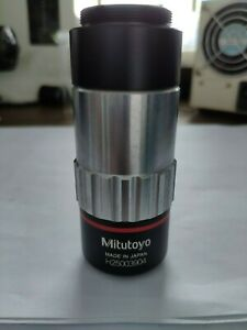 Mitutoyo Objective Lens Qv objective 5x 0 28 0 F 100 with Good Condition
